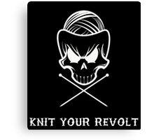 Knit Your Revolt 1 Canvas Print