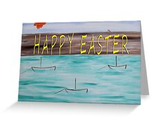 EASTER 81 Greeting Card