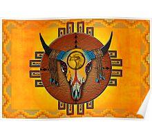 Spirit of the Buffalo Sun (Horizontal) Poster