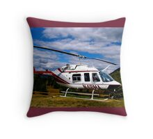 A Minute to Adventure Throw Pillow