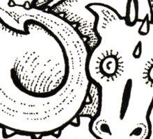 Dragon Puff Sticker