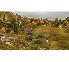 Autumn Valley Photographic Print