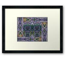 Hidden Looks Framed Print