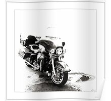 Electra Glide Poster