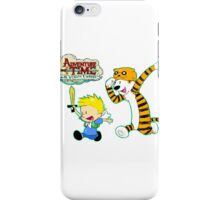 AT with Calvin and Hobbes iPhone Case/Skin