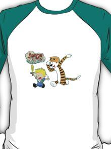 AT with Calvin and Hobbes T-Shirt