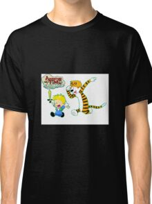 AT with Calvin and Hobbes Classic T-Shirt
