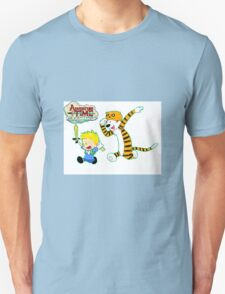 AT with Calvin and Hobbes Unisex T-Shirt