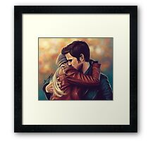 You put your arms around me Framed Print