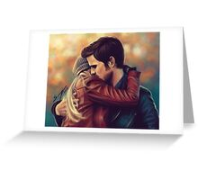 You put your arms around me Greeting Card