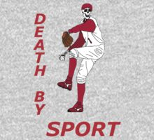 death by sport baseball player by karen sheltrown