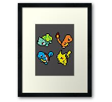 First Gen Starters Framed Print