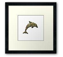 Drug Dolphin Framed Print