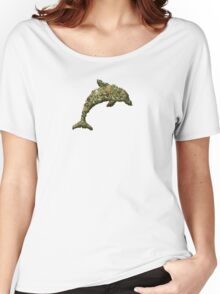 Drug Dolphin Women's Relaxed Fit T-Shirt
