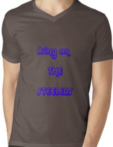 bring on the steelers Mens V-Neck T-Shirt