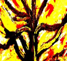 The Burning Bush Sticker