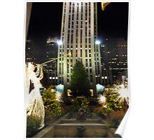Rockefeller Plaza Poster