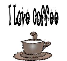 I love coffee by NicPW