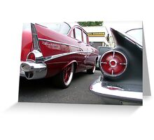Parked Greeting Card
