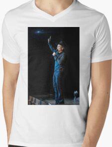Clint Black Mens V-Neck T-Shirt