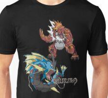 Derek's Mega Gyarados & Tyrantrum Unisex T-Shirt