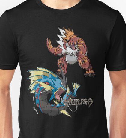 Derek's Mega Gyarados & Tyrantrum T-Shirt