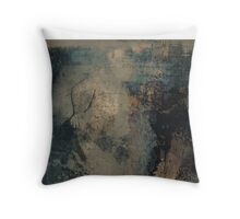 The Flesh is Dead End  Throw Pillow