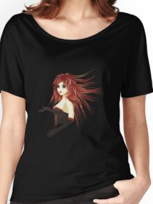 Girl in corset Women's Relaxed Fit T-Shirt