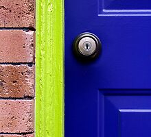 Blu's Door by Jill Sprague