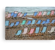 Just waiting for a sunny day Canvas Print