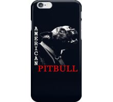 american pit bull iPhone Case/Skin