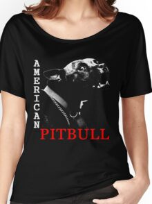 american pit bull Women's Relaxed Fit T-Shirt