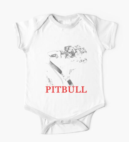 american pit bull One Piece - Short Sleeve