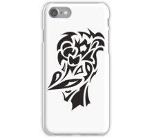 smiling bird tattoo iPhone Case/Skin