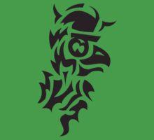 bird viking tattoo One Piece - Short Sleeve