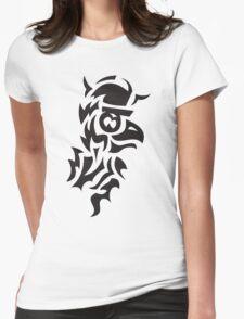 bird viking tattoo Womens Fitted T-Shirt