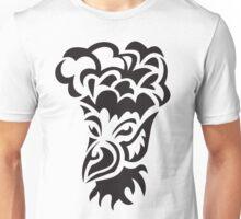 bird with hair tattoo Unisex T-Shirt