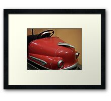 Red Bumper Framed Print