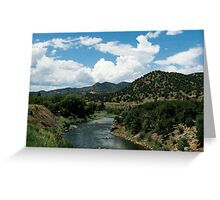 Water Valley Greeting Card