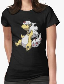 Ben's Mega Ampharos Womens Fitted T-Shirt