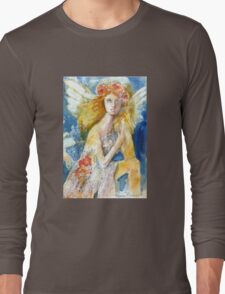 Angel in Waiting Long Sleeve T-Shirt