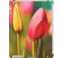 Vintage Tulips: Colors of Spring iPad Case/Skin