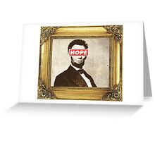 Lincoln Hope Greeting Card