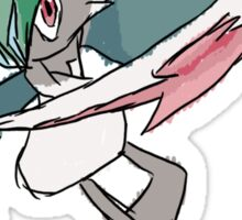 Rhys' Mega Gallade Sticker