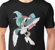 Rhys' Mega Gallade (No outline) Unisex T-Shirt