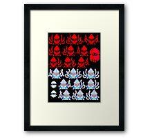 A MILLION SQUIDYS... Framed Print