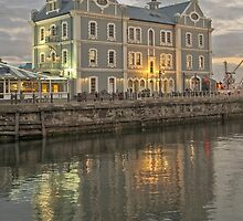 Early one morning at the waterfront by awefaul
