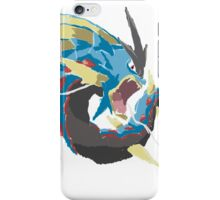 Derek's Mega Gyarados (No outline) iPhone Case/Skin