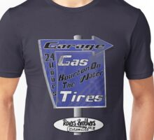 Cotswolds garage by Rogers Brothers Unisex T-Shirt
