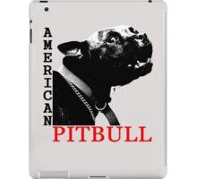 american pitbull terrier iPad Case/Skin